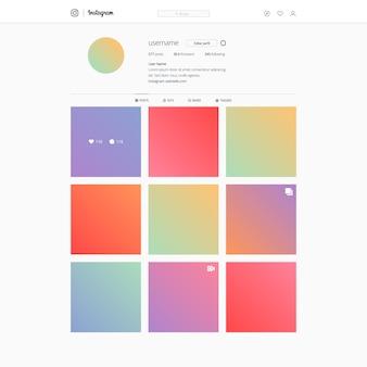 Instagram sur le modèle de plate-forme de bureau