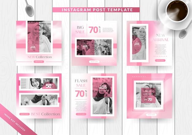 Instagram post design pour le hijab ou la mode musulmane