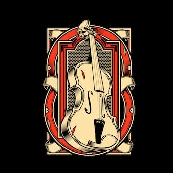 Instrument à cordes pour alto