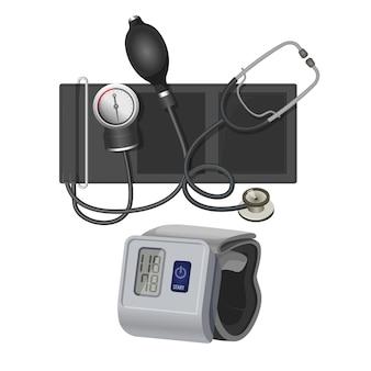 Instrument de manomètre ou de sphygmomanomètre pour mesurer la tension artérielle