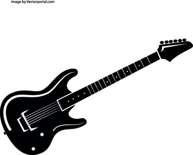 Instrument de musique de guitare