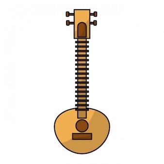 Instrument de musique indienne sitar