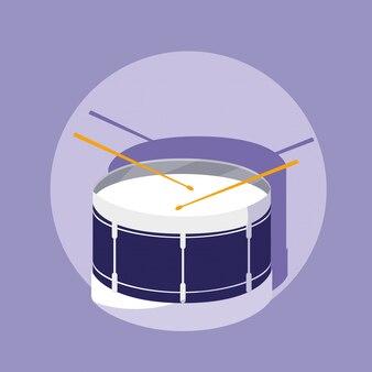 Instrument de musique percution drum