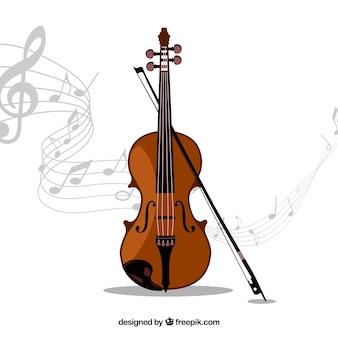 Instrument de musique de violon