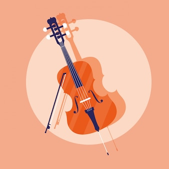 Instrument de violon classique