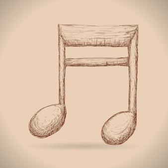 Instruments de musique et notes
