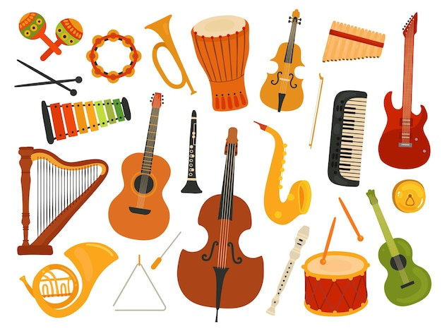 Instruments de musique.