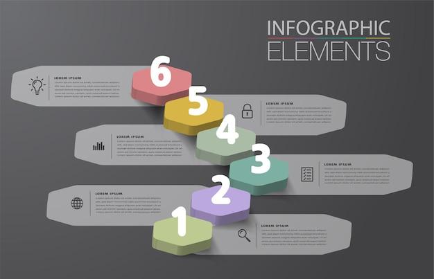 Intensifier le concept d'entreprise réussi vecteur d'infographie