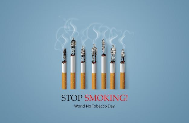 Interdiction de fumer et journée mondiale sans tabac