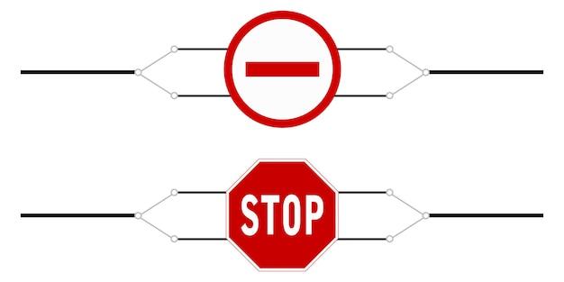 Interdiction de voyager sur la bannière
