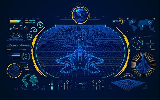 Interface de chasse aérienne