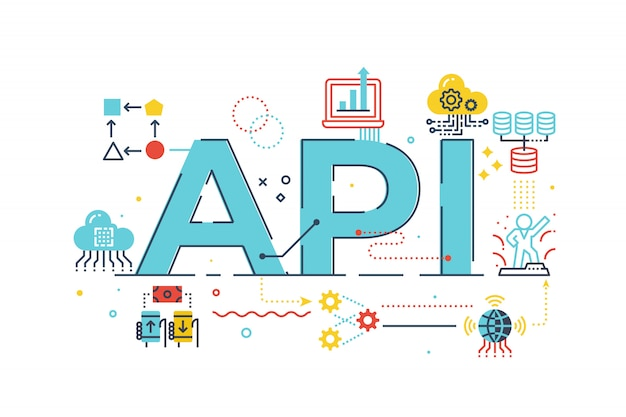 Interface du programme d'application api