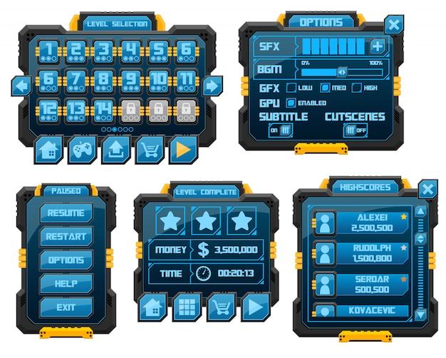 Interface graphique du jeu de robot