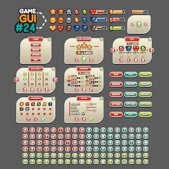Interface graphique du jeu