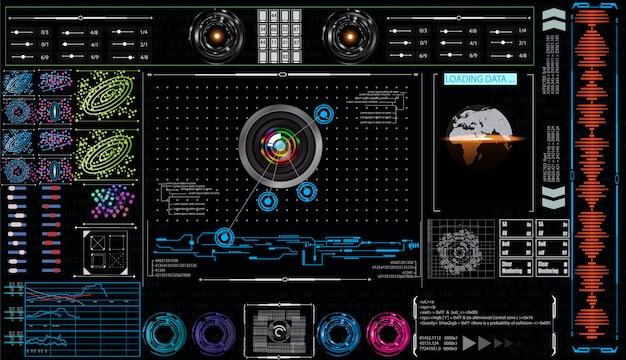 Interface tête haute définie pour l'interface graphique