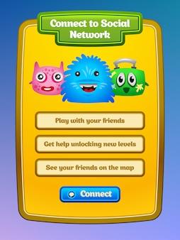 Interface utilisateur du jeu.