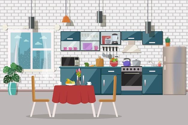 Intérieur de cuisine