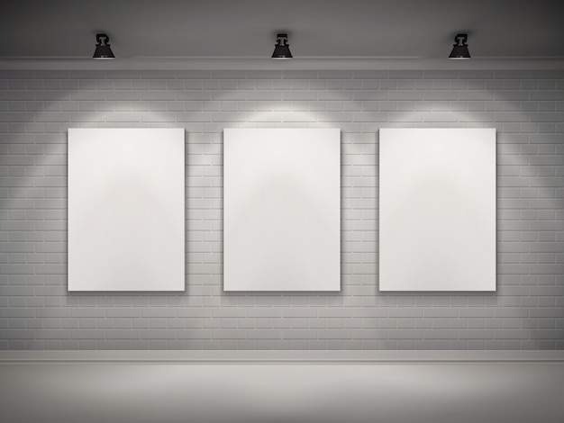 Intérieur de la galerie