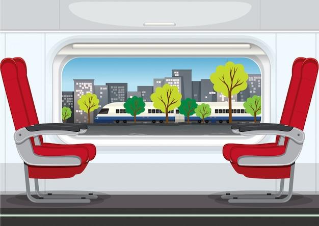 Un intérieur de train