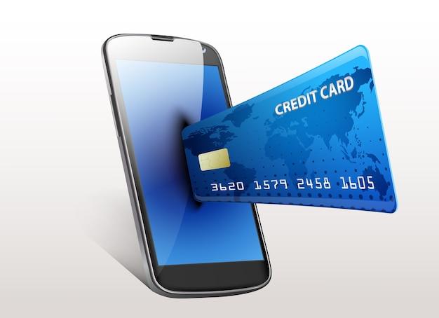 Internet concept shopping smartphone