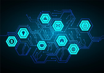 Internet des objets cyber technologie