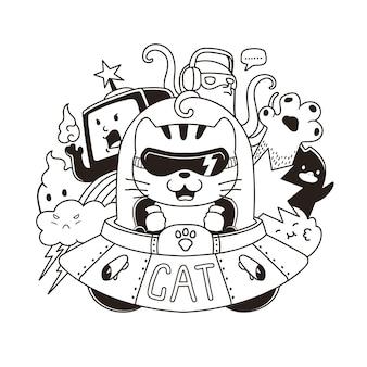 Invasion de chat