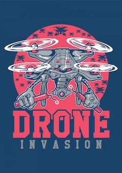 Invasion par drone