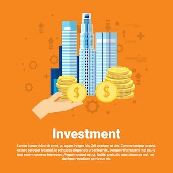 Investissement argent investisseur entreprise