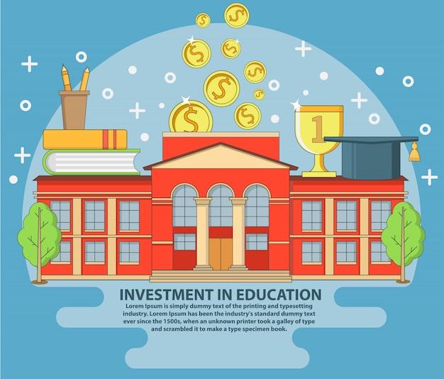 Investissement dans l'éducation