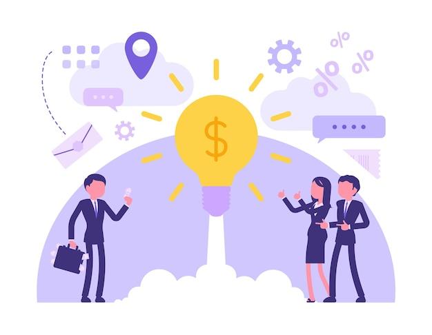 Investissement de démarrage d'entreprise