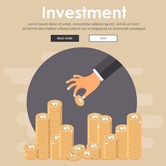 Investissements. recette pour une entreprise à succès