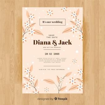 Invitation de douche nuptiale