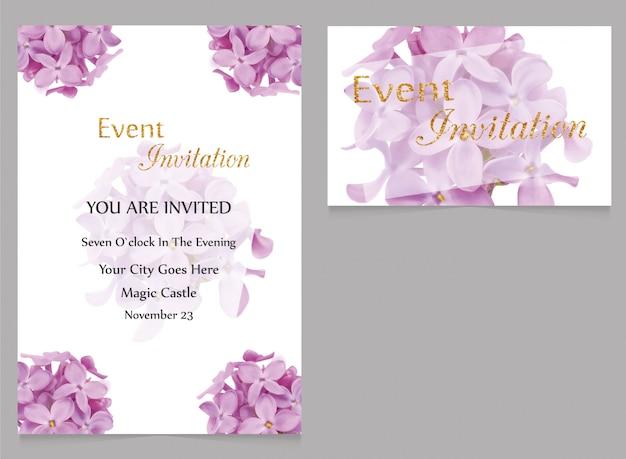 Invitation à l'événement