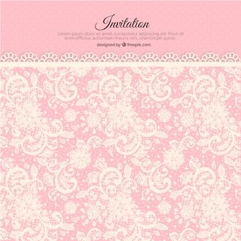 Invitation lacy