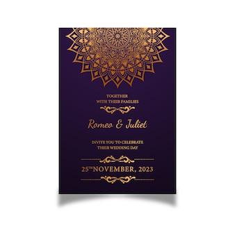 Invitation de mariage créative