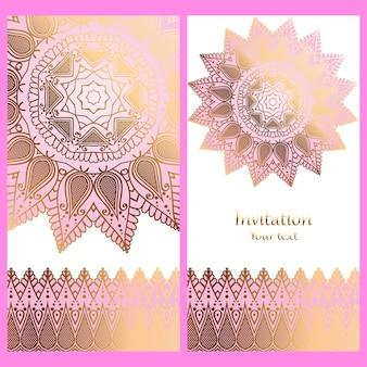 Invitation de mariage délicate