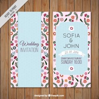 Invitation de mariage fanfare