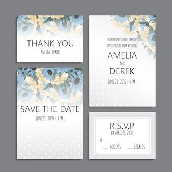 Invitation de mariage.