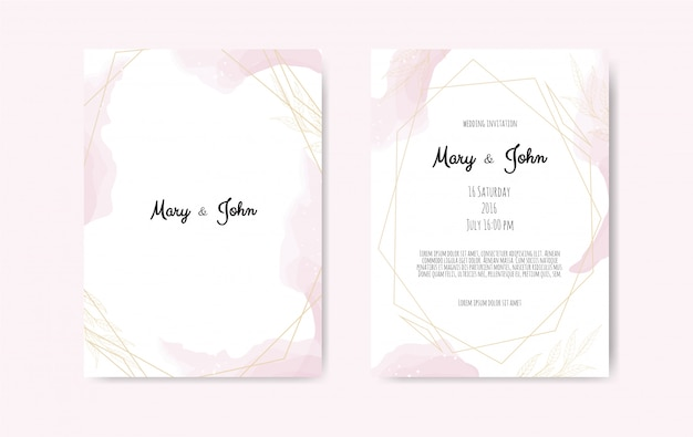 Invitation de mariage