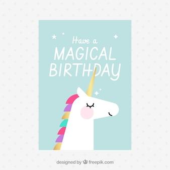 Invitation pour un anniversaire magique