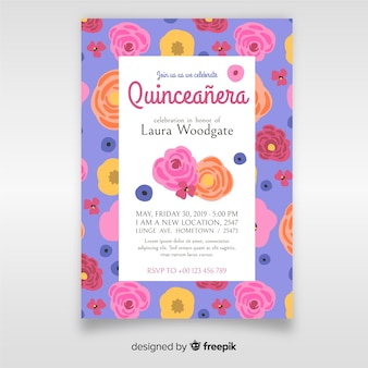 Invitation quinceañera