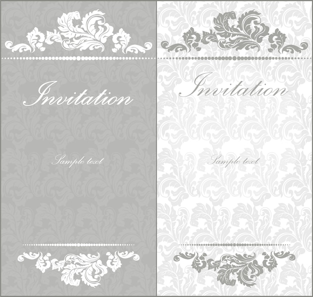 Invitation vide