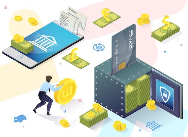 Invite banner customer banking sélection du produit.
