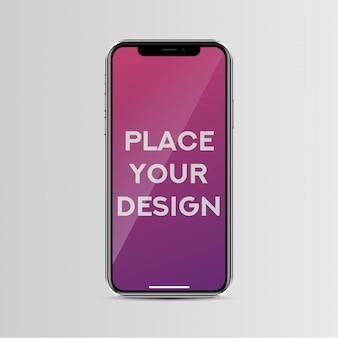Iphone x maquette