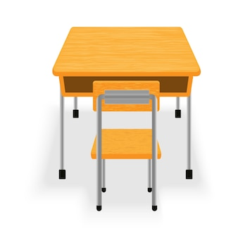 Isolé de table et chaise