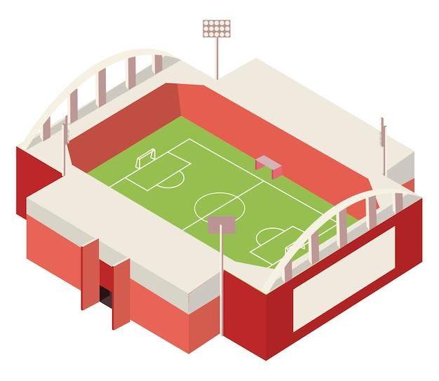 Isométrique de football de stade