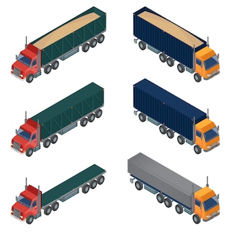 Isométrique de transport lourd