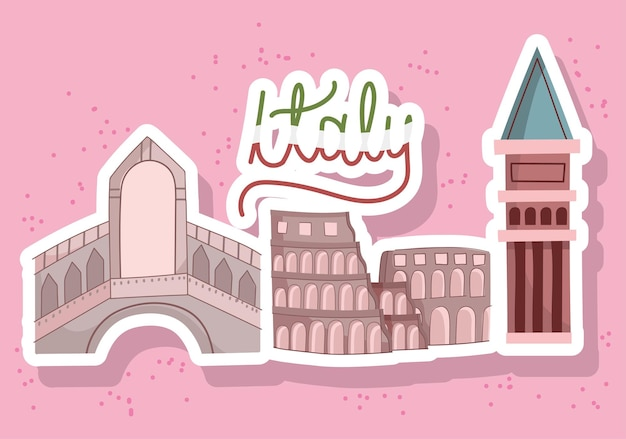 Italie lieux célèbres