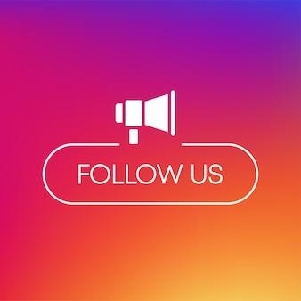 J'aime le commentaire, suivez l'icône, un excellent design à toutes fins, vecteur de médias sociaux