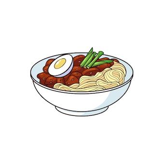 Le jajangmyeon est un aliment typique de la corée